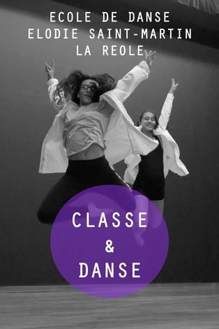 danse étude et section danse la réole gironde elodie saint-martin