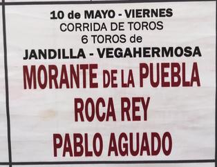 Toros de Jandilla pour Morante de la Puebla, Roca Rey, Pablo Aguado