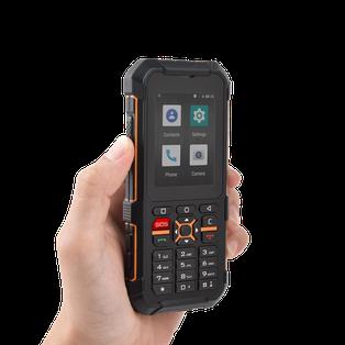 Téléphone RUGGEAR PTI DATI pour la protection du travailleur isolé