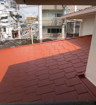 屋根塗装 After