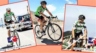 Pascal, Mickael et Domi, tout de vert vêtus.............