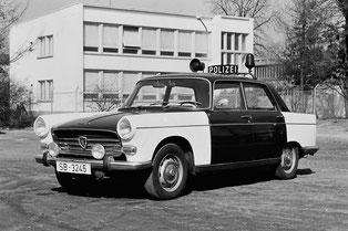 Peugeot 404 Polizei-Umbau