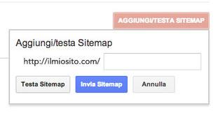 Come inserire la sitemap su Google Search Console