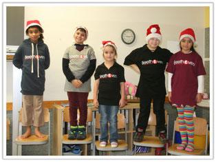 Neue Schul-T-Shirts für die Beethovenschule Singen!
