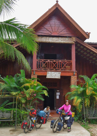 Unser gemütliches Guesthouse in Luang Namtha.