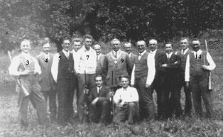 Kleinkaliberschützenverein Flehingen ca. 1935