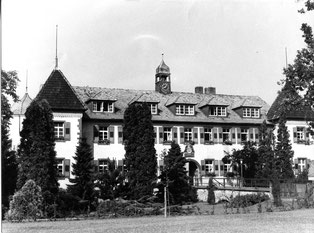 """""""Flehinger Schloss, wie es vor seinem letztmaligen Umbau aussah"""""""