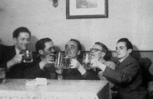 """""""Beim Bier im Lamm 1947"""""""