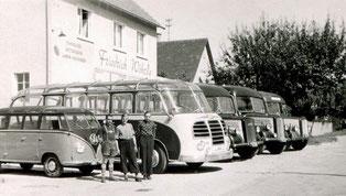 """""""Omnibusausflüge waren in den 50er Jahren des 20. Jahrhunderts die Attraktion bei allen Vereinen."""""""