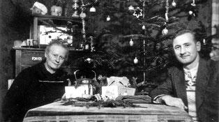 """""""Geschenktisch -- Weihnachten 1949"""""""