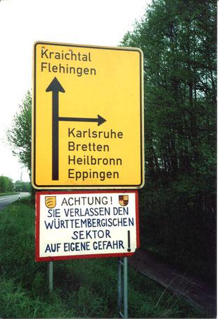 Streich am 1. Mai 1992 in Oberderdingen