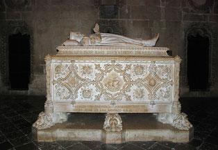 La tomba di Vasco da Gama nel Monastero dos Jerónimos a Belém, Lisbona.