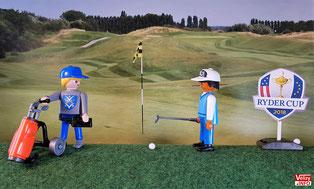 Ryder Cup 2018 - Golf National de Saint-Quentin-en-Yvelines.