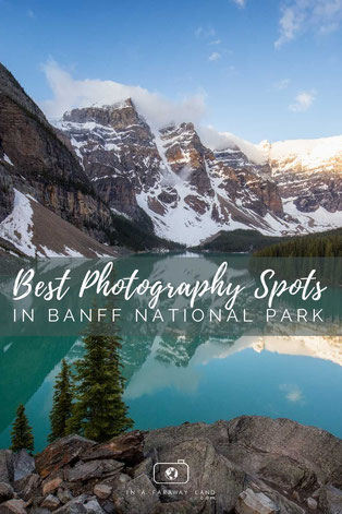Capture postcard worthy photos at these easy to get to photography spots in Banff National Park