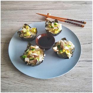 Vegane Sushi-Muffins