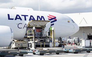 Pictured is a B767F of LATAM Cargo Colombia  -  photo: LATAM Cargo