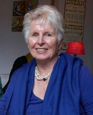 Doris Mohr, ehrenamtliche Flüchtlingshelferin aus Röttgen