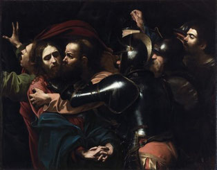 Caravaggio, La cattura di Cristo, 1602, National Gallery of Ireland, Dublino