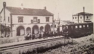 La fermata di Stagno, sulla tratta Livorno-Collesalvetti