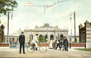 Lo stabilimento termale Acque della Salute, inaugurato nel 1904
