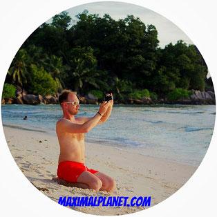 Tip Fotoausrüstung Equipment Kamera Seychellen Sand Pflege