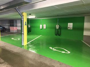 Parking Ochsenbühl Arosa
