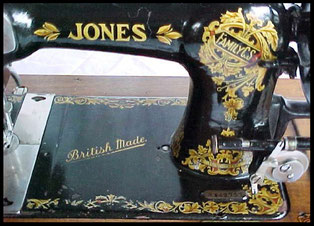 Jones FCS Type 12 ...... British Made ...... # B 542.767