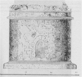 ricostruzione sepolcro S. Maria di Gesù