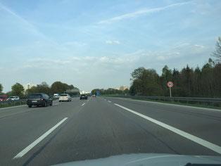 Tempo 80 - Was an der A96 bereits Realität ist, soll auch in Taufkirchen kommen. Foto: SPD