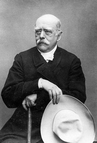 Bild: Otto von Bismarck. Bundesarchiv, Bild 146-1990-023-06A / CC-BY-SA 3.0.