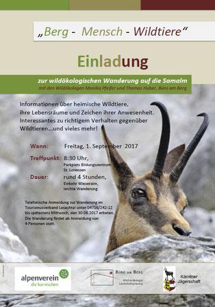 wildökologische Wanderung - Alpenverein Austria