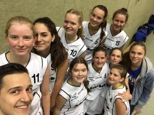 Haben in diesem Jahr nur sechs Spiele in der regulären Saison auf dem Programm: Die U18-Mädchen.