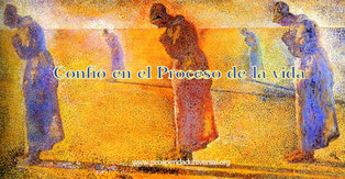 PENSAMIENTOS PODEROSOS - PROSPERIDAD UNIVERSAL -Confío en el proceso de la Vida