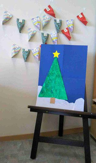 クリスマス 手作り アドベントカレンダー