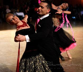 Lars Kretzschmar & Pia Hentschel (6. Platz)