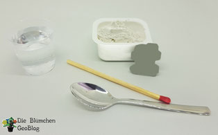 Gips, Form und Material zur herstellung des Gipsabdruck