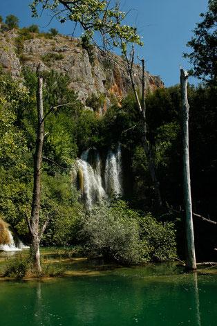 Manojlovac Wasserfall, Krka Nationalpark, Kroatien