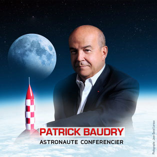 patrick baudry astronaute conferencier speaker intervenant contact booking