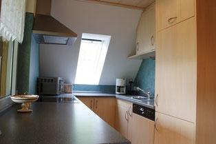 Küche, die keine Wüsche offen lässt