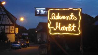 Der Adventsmarkt in Griesheim ist angesagt