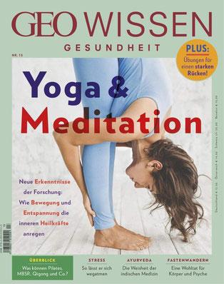 GEO Wissen Gesundheit Nr. 13 Yoga & Meditation