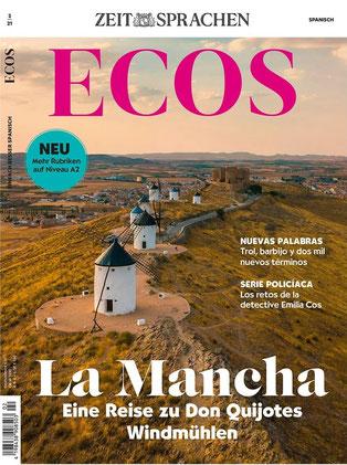 Sprachmagazin hier bestellen: Ecos Spanisch lernen - La Mancha