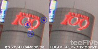 4K アップコン ダウンコン 4K変換 HDCAM 4K 60p  HDCAM-SR prores422 prores avid apple HDR SDR bt.709 bt.2020 bt.2100 dolby vision  hd10 hd10+ xavc class300 XAVC long 200