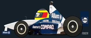 Ralf Schumacher by Muneta & Cerracín