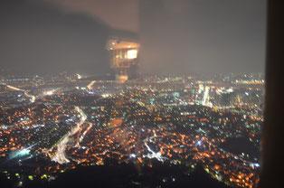 ソウルタワーからの夜景。