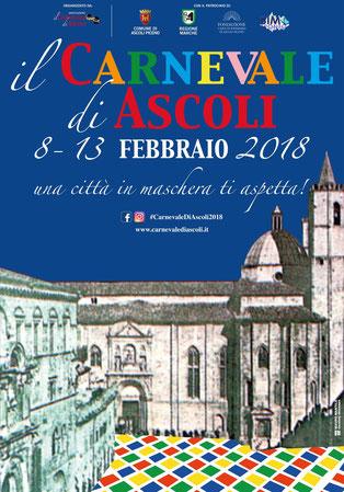 Il programma completo del Carnevale di Ascoli Piceno 2018
