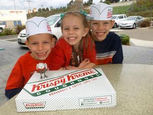 First vist to Krispy Kreme Doughnuts in 3 years.