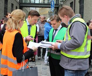 Evakuierungsübung im Platzl Hotel München. Quelle: Platzl Hotel Inselkammer KG