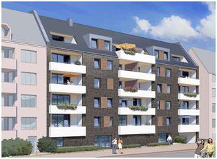Der vierte Wohnungsneubau in kurzer Zeit in Findorff  ©creativ planen & bauen GmbH