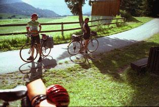 ruhige Almwiesen mit einem unbeschreiblichen Berg-Panorama